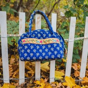 Quilted Vera Bradley Purse rare pattern